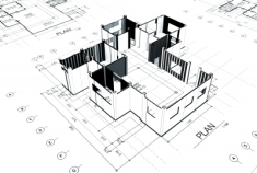 Plans of a house
