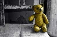 Lonesome teddy bear